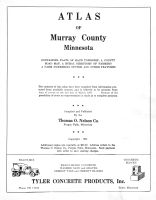 Title Page, Murray County 1961